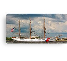 USCG Eagle (Tall Ship Panoramic) Canvas Print