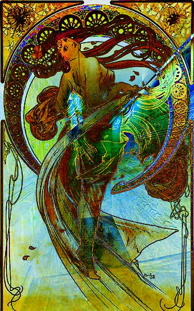 DEDICATION ~ MUCHA ETERNAL THROUGH HIS WORKS 2 by Tammera