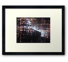 Up The Downstair Framed Print