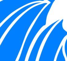 Alpha Delta Pi Alphie Azure Sticker