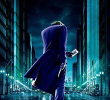 Joker - Dark Knight by fiskandchips