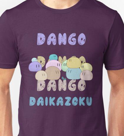 Dango Dango Daikazoku Unisex T-Shirt
