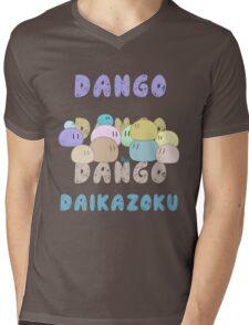 Dango Dango Daikazoku Mens V-Neck T-Shirt