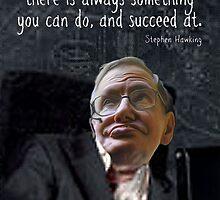 Hawking Talking by EyeMagined