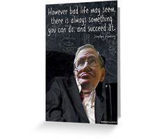Hawking Talking Greeting Card