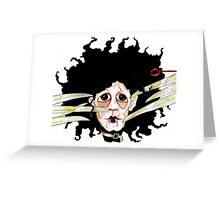 Edward scissors hands Greeting Card