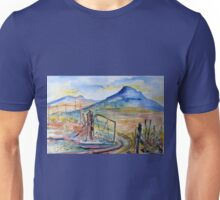 Behind the gate... Unisex T-Shirt
