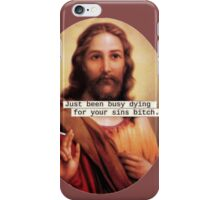 Give Jesus a Break iPhone Case/Skin