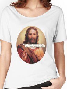 Give Jesus a Break Women's Relaxed Fit T-Shirt