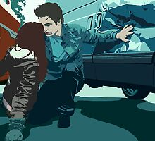 Twilight: Edward rescues Bella by macdougal