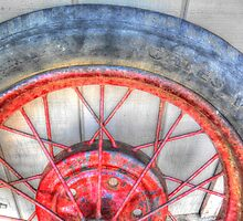 Red Spokes by James Brotherton