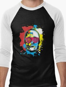 Party Machine Men's Baseball ¾ T-Shirt