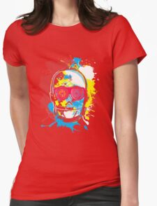 Party Machine Womens Fitted T-Shirt