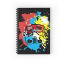 Party Trooper Spiral Notebook