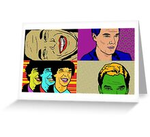 Complete Cumberbatch Greeting Card