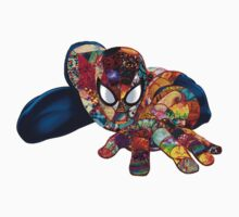 Spiderman on Acid Kids Tee
