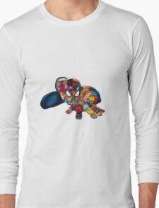 Spiderman on Acid Long Sleeve T-Shirt