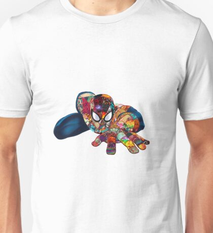 Spiderman on Acid Unisex T-Shirt
