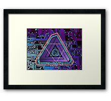 ElecTRONic Tri Framed Print