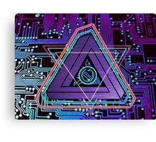 ElecTRONic Tri Canvas Print