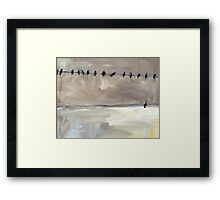 Looking Up 8 Framed Print