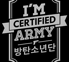 Certified BTS ARMY by skeletonvenus