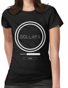 DOLLARS Login - DRRR! Womens Fitted T-Shirt