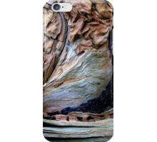 Abstract a non dendrochronology study iPhone Case/Skin