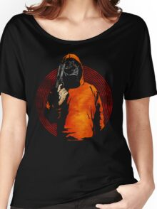 Keep Your Eye On The Prize (Black) Women's Relaxed Fit T-Shirt