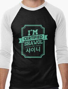 Certified SHINee SHAWOL Men's Baseball ¾ T-Shirt