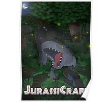JurassiCraft indominus roaring Poster