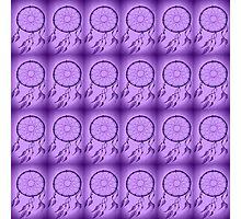 purple dream catcher Photographic Print