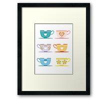 Disneyland Tea Cups Framed Print