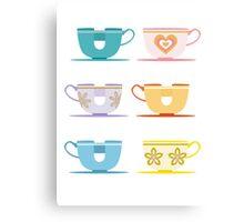 Disneyland Tea Cups Canvas Print