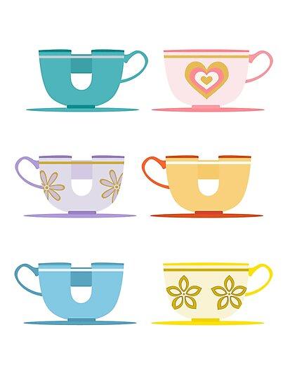 Disneyland Tea Cups by ThatDisneyLover