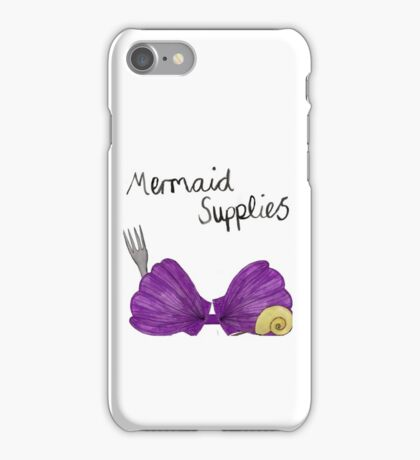 Mermaid Supplies iPhone Case/Skin