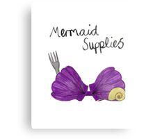 Mermaid Supplies Metal Print