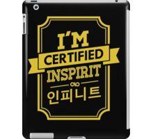 Certified INFINITE Inspirit iPad Case/Skin