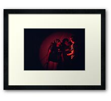 Noble Savages perform at Sedition at the Syndey Trade Union Club 1983 Framed Print