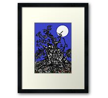 Full Moon in Fairyland Framed Print