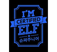 Certified Super Junior ELF Photographic Print