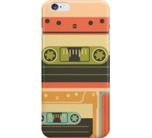 Triple Casette Tape Coloured iPhone Case/Skin
