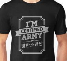 Certified BTS ARMY Unisex T-Shirt