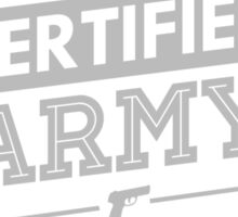 Certified BTS ARMY Sticker