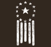 Old World America Flag [WHITE] by Styl0
