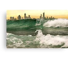 OUTSIDE OF  THE CITY Canvas Print