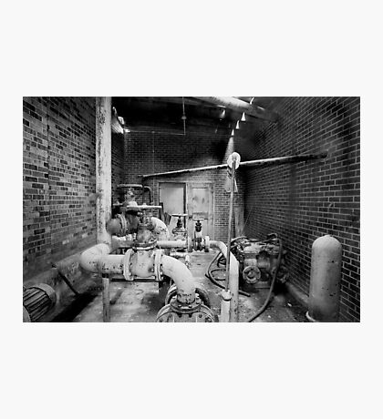 Pipes, Pumps and Valves Photographic Print