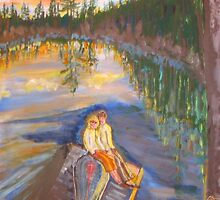 Summer Love and a Canoe by eoconnor