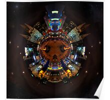 Federation Square Spherical Panorama HDR Poster