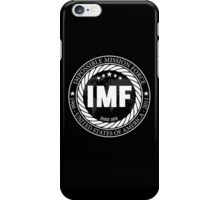 No mission is impossible (black) iPhone Case/Skin